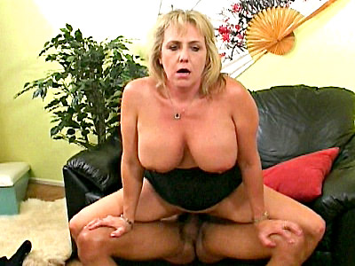 Wanda Lust is aptly named for this hot granny is always horny and ready for some cock After having her big tits fondled by a sexy black stud Wanda was more than ready to gobble up his cock and then spread wide on the couch so she could have her mature pussy fucked