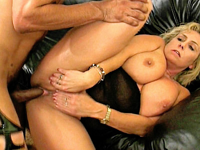 We love being with hot granny Wanda Lust for this blonde mature chick is always ready for some action After having her huge mounds fondled bya a horny black hunk she was more than ready to lap up his dick and ride his hard dick in the living room