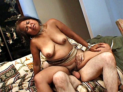 We decided to give hot granny Sarah a welcoming gift since shes new to the place and doesnt have any friends Our guy took his hard cock which got this exotic grandma sucking him off in no time She then laid on her back while she got a good fucking on the sofa