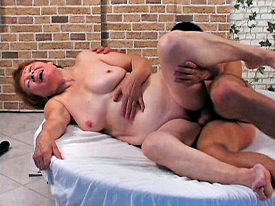 Adeline Lange video: Lange - Horny Granny Fucked