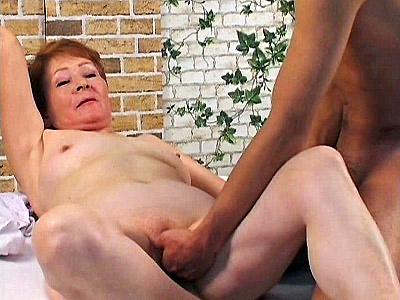 Hot grandma Nathalie was feeling more than naughty This horny grandma thought that it was the best time to satisfy her hungry hole with her huge black dildo but the moment she was presented a huge real cock she gobbled it up and spread wide for a drilling